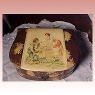 Victorian Shaving Box