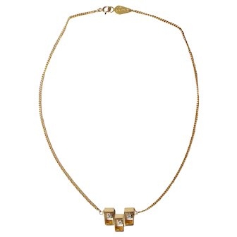 Sherman Gold-tone Chain Necklace