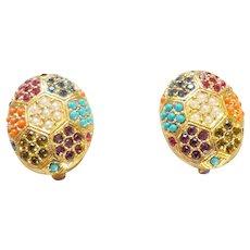 Bijoux D'Orlan Paris Clip Earrings