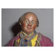 Early 10in.Neapolitan Creche Man All Original Ex. Condition