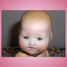 AM #351 Infant Bisque German Baby on Original Composition Body Adorable