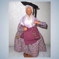 French Santon Woman All Original Ex. Condition