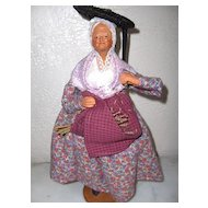 French Santon Woman All Original Ex. Condition