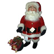 "Jodi Creager  24in. ""Santa"" Character Art Doll 1989 Mint Condition"