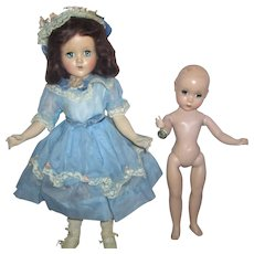 SALE Alexander Maggie Face Doll w/ Fashion Academy Award Tag and R&B Nanette All Original