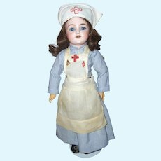 18 inch. Simon & Halbig #1249 German Bisque, Hard to Find Doll, Fabulous