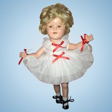 16in. Composition Original Shirley Temple Doll Excellent Condition