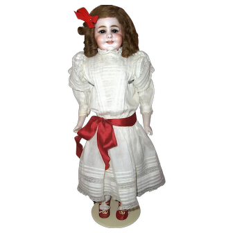 18 inch Simon & Halbig #970 Rare Character Smiling Girl  F A N T A S T I C