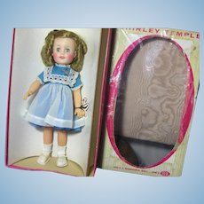 15 inch Vinyl Shirley Temple in Original Box Excellent Condition Beautiful