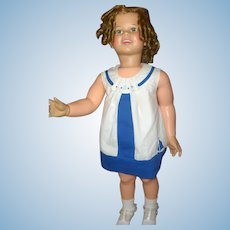 1959 Ideal's 36 inch Shirley Temple Doll, Great Condition, Beautiful Face....