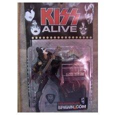 Kiss Alive Gene Simmons by McFarlane Toys/Spawn Mint Box/Pkg