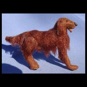 "Irish Setter salon dog Bru Kestner French fashion doll companion 4"""
