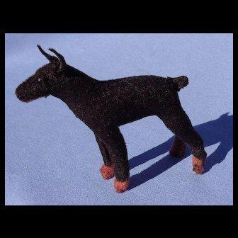 "Doberman Pinscher Manchester terrier MIN PIN salon dog  Bru Kestner Jumeau companion dog 4"""