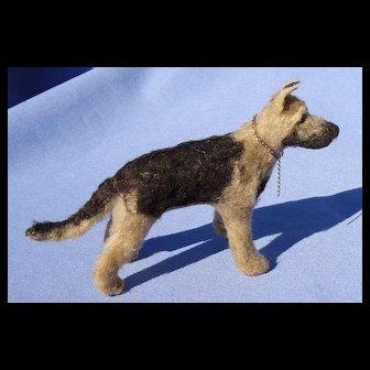 "German Shepherd Alsatian Malinois salon dog  Kestner Bru French fashion doll companion 5"""