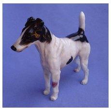 Smooth Fox terrier HN1070 Royal Doulton England dog