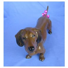 "11"" Dachshund dog Rosenthal Germany"