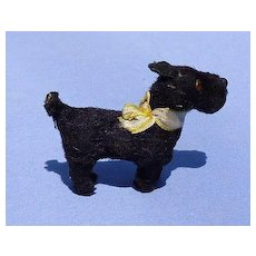 antique Scottish terrier Scotty Fripon salon dog French fashion doll companion Germany label