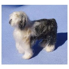 Old English Sheepdog companion dog French fashion doll OES  3""