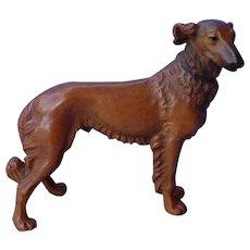 "1960 Anri Borzoi dog Italy 5"""