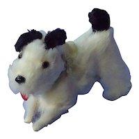 antique fur Fripon fox terrier salon dog French fashion doll Germany label