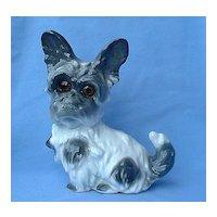 "Skye Silky Yorkshire Terrier Briard dog perfume lamp Bavaria 8"""