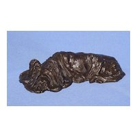 bronze Skye Silky terrier Briard  dog Baldwin 8/50