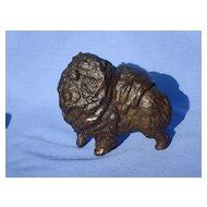 "Baldwin bronze  Chow Pomeranian 4"" LE 3/50"