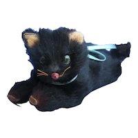 black cat Bru Kestner Jumeau French fashion doll companion Germany