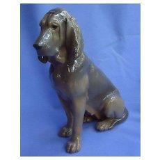 "10"" Bloodhound  mom Royal Copenhagen Denmark dog"