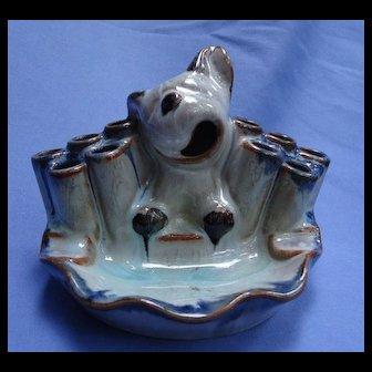 BONZO Bosse design dog Goebel Germany ashtray