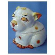 art deco colorful Bonzo tobacco jar Germany 8190