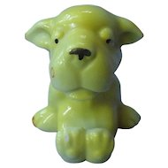 1930s Bonzo yellow toothbrush holder Japan