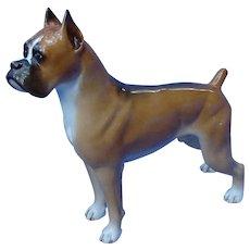 """1950s Boehm Boxer dog 11"""" L/E 400 PC"""