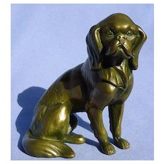 bronze Cavalier King Charles spaniel