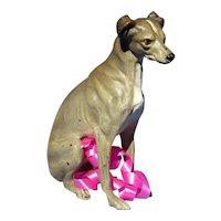 """bronze Whippet Italian Greyhound Vienna Austria dog 3"""""""