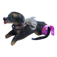 """Antique Dachshund salon dog Kestner Jumeau French fashion doll companion Germany 2"""""""
