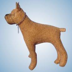 "BOXER OOAK companion dog French fashion doll 3"""
