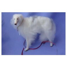 "OOAK Borzoi French fashion doll companion dog Germany 5"""