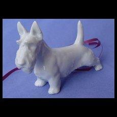 """1930 Scottish terrier Scotty dog Rosenthal Germany 4"""""""