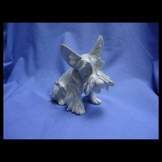 "1950 SCOTTISH TERRIER Cacciapuoti  Italy Scotty dog 7"""