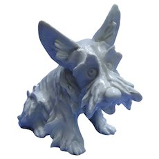 1950 SCOTTISH TERRIER Cacciapuoti  Italy Scotty dog 7""