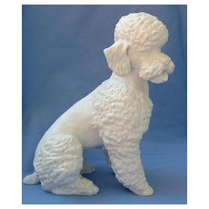 "1950s Poodle Kaiser Germany 8"" dog"