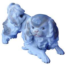 """1970s Cavalier King Charles  spaniel Pekingese Japanese Chin dog  10"""""""