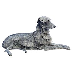 1996 Scottish Deerhound Irish Wolfhound Eve Pearce trophy 13""