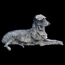 "1996 Scottish Deerhound Irish Wolfhound Eve Pearce trophy 13"""