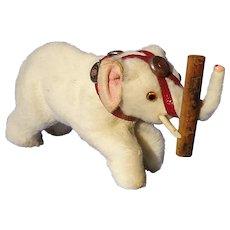 antique fur circus elephant toy Germany BRU JUMEAU KESTNER French fashion doll label