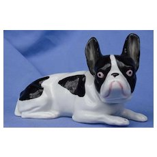 "French Bulldog  Heubach Germany  dog 6"" 7093"