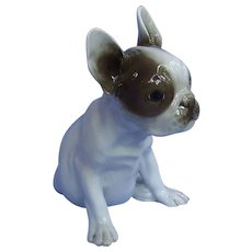 """9"""" French Bulldog Rosenthal puppy dog Germany"""