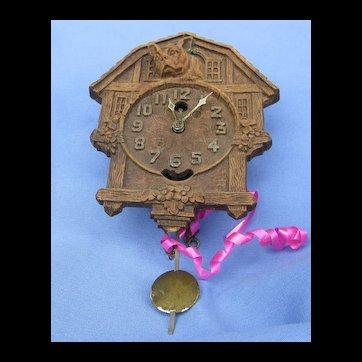 French bulldog Keebler dog clock