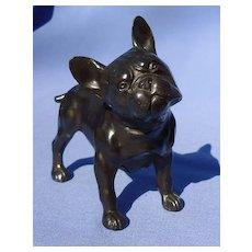 "1940 FRENCH bulldog bronze Dodge dog 5"""